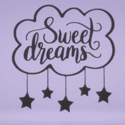 Télécharger fichier 3D Décoration murale : de beaux rêves, satis3d