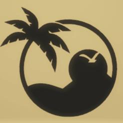 c1.png Télécharger fichier STL décoration murale coucher de soleil • Objet à imprimer en 3D, satis3d