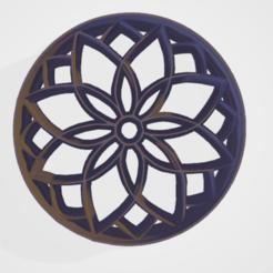 c1.png Download STL file cookie cutter stamp mandala • 3D print model, satis3d