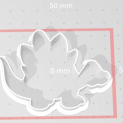 Descargar modelos 3D cortador de galletas dino, maryhynes16