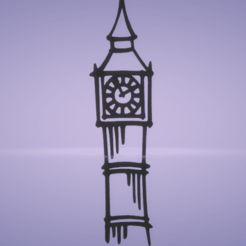 c1.png Download STL file wall decor Big Ben • Model to 3D print, satis3d