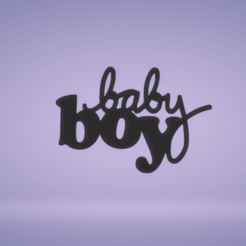 c1.png Download STL file wall decor baby boy or girl • 3D printer object, satis3d