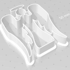 Imprimir en 3D ángel cortador de galletas, maryhynes16