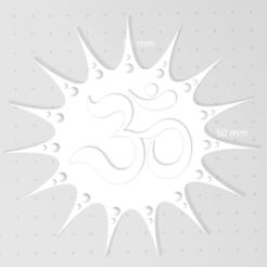 ohm1.png Télécharger fichier STL Ohm Reiki • Plan pour impression 3D, satis3d