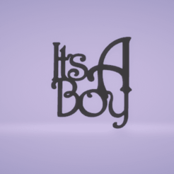c1.png Download STL file wall decor its a boy or a girl • 3D printer object, satis3d