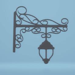 c1.png Télécharger fichier STL lampadaire de décoration murale • Objet imprimable en 3D, satis3d