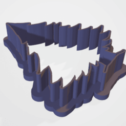 Download STL cookie cutter tree, satis3d