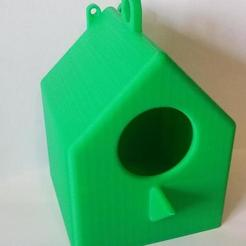 Download free STL files Bird House - Simple print no supports needed, Psychobillyman