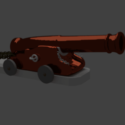 3D print model Cannon, mahmod110