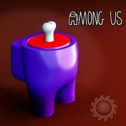AMONG US DEAD.jpg Descargar archivo STL gratis AMONG US (DEAD) • Plan de la impresora 3D, animatikafilms