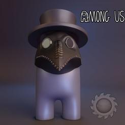 02.jpg Download STL file AMONG US DR PESTE • Design to 3D print, animatikafilms