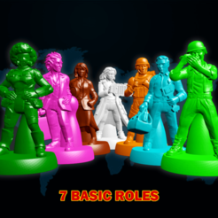 PANDEMIC_FINAL.png Download STL file Pandemic Characters • 3D printing object, vcf1977