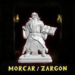 720X720-001.jpg Télécharger fichier STL HeroQuest - Morcar / Zargon / Mentor • Design pour imprimante 3D, vcf1977