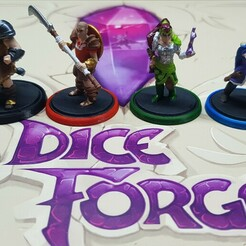 20201123_231228.jpg Download STL file Dice Forge Characters • 3D print model, vcf1977