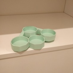 Download free 3D printing files fused bowls, charlysss