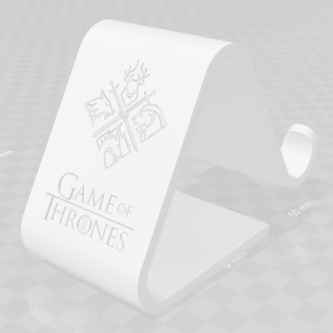 3D print files Cell Holder House_Stark, saezdaniel1993