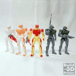 Download free 3D printer templates Android MP-1 (Action Figure), Jwoong