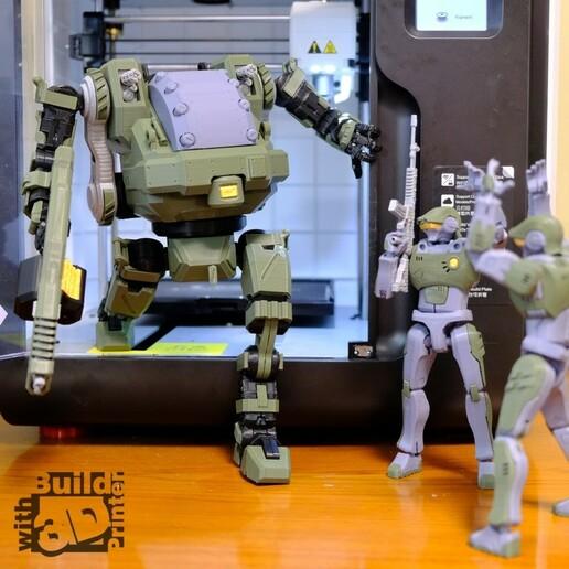 HGW_1_1_04.jpg Download STL file Heavy Gun Walker • 3D print design, Jwoong