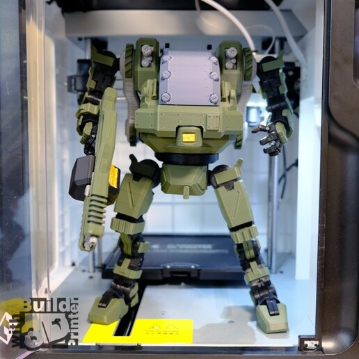 HGW_1_1_03.jpg Download STL file Heavy Gun Walker • 3D print design, Jwoong