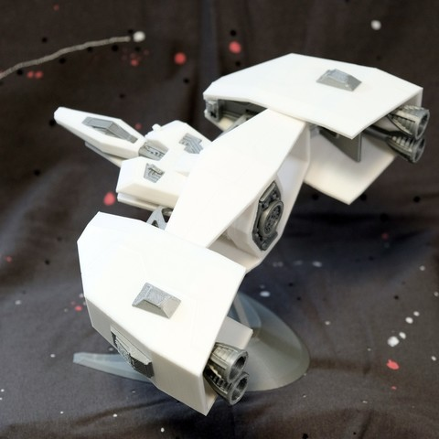 Descargar diseños 3D gratis Nave espacial Tipo A, erwoong