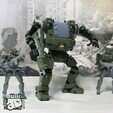 HGW_1_1_14.jpg Download STL file Heavy Gun Walker • 3D print design, Jwoong