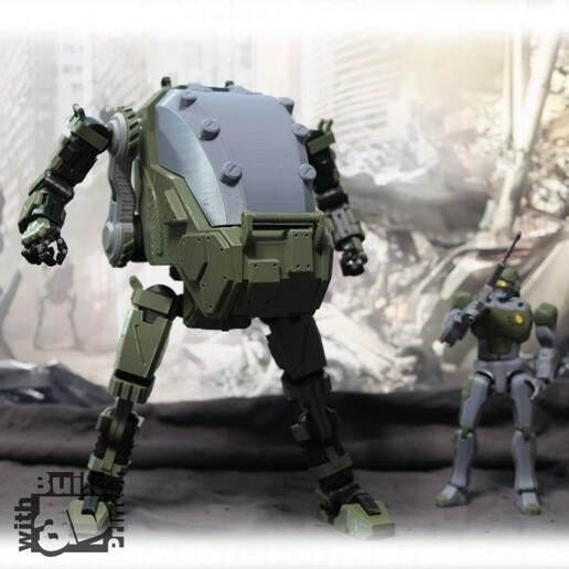 HGW_1_1_12.jpg Download STL file Heavy Gun Walker • 3D print design, Jwoong