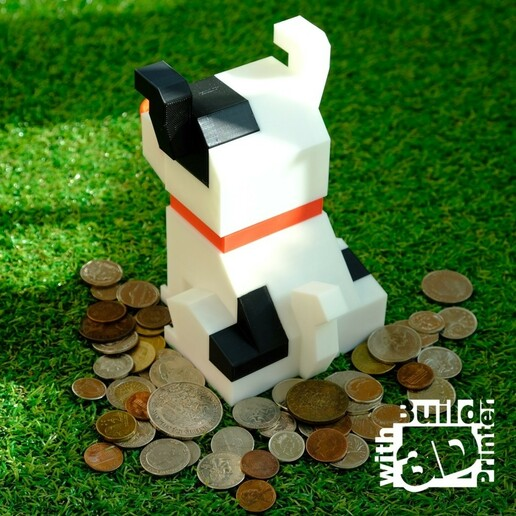 dog_1_1_02.jpg Télécharger fichier STL gratuit Banque de pièces de monnaie pour chiens • Design pour impression 3D, Jwoong