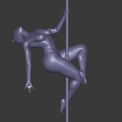 3D printing model Pole Dance, Viegho