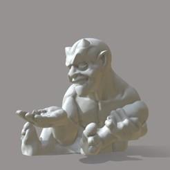 Download 3D printer files Devil Devil Gothic Devil, NickMass