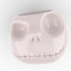maceta Jack.PNG Télécharger fichier STL Le pot de Jack Skellington • Modèle pour impression 3D, FluS