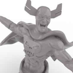 R2.PNG Télécharger fichier STL Crâne mort // Buste de Bowen • Design pour impression 3D, FluS