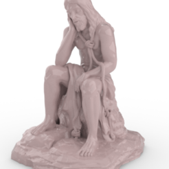 R1.PNG Download STL file Christ of patience - Christ of patience • 3D printing design, FluS