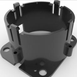 R1.PNG Download STL file Aprilia 2T Lens Holder • Model to 3D print, FluS