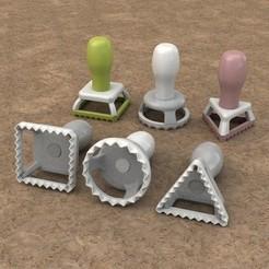 a_display_large.jpg Download free STL file Ravioli Stamps • 3D print template, Balkhnarb