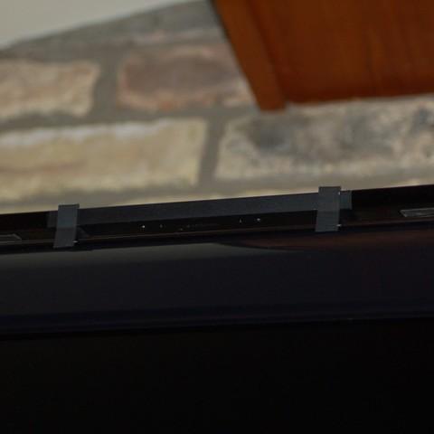 2013_09_08_1236_display_large.jpg Download free STL file Wii Sensor Bar Mount • 3D print object, Balkhnarb