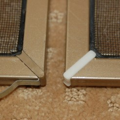 Free 3D printer model Corner Joints for Aluminum Screens, Balkhnarb