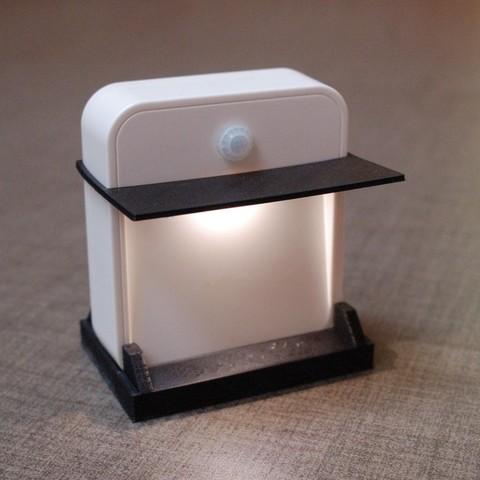 Télécharger objet 3D gratuit Lumière sous le lit, Balkhnarb