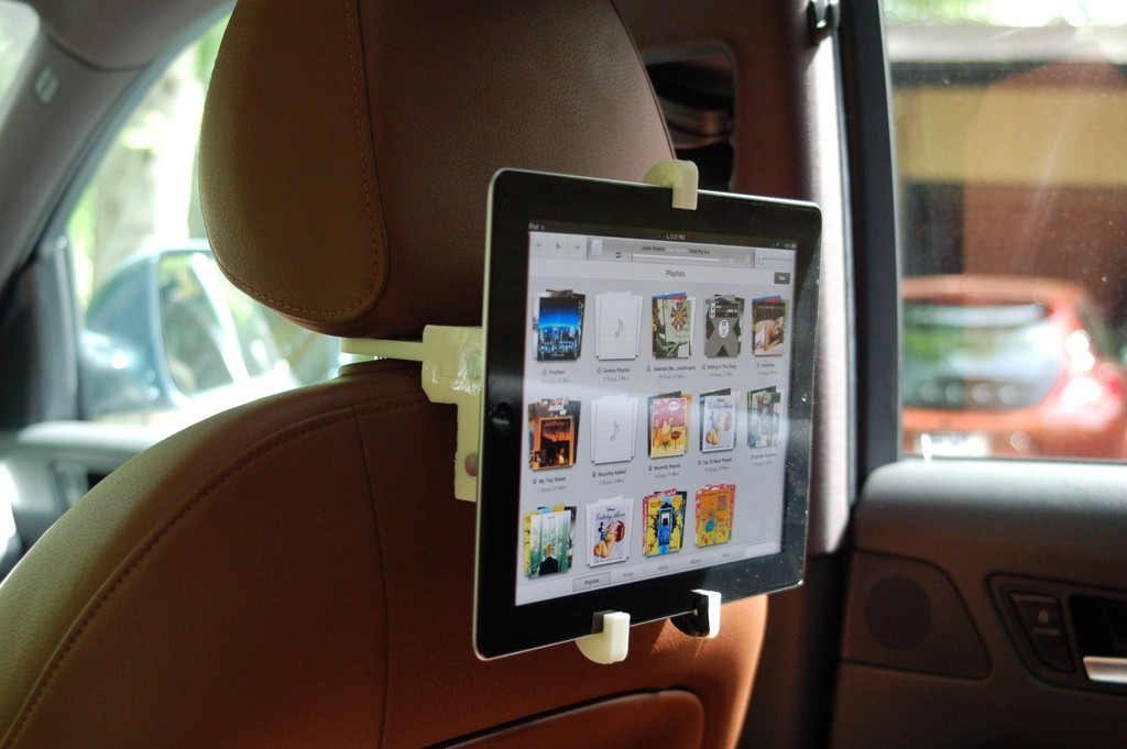 2013_05_26_0187_display_large.jpg Download free STL file Headrest Mount for iPad Holder • 3D print template, Balkhnarb
