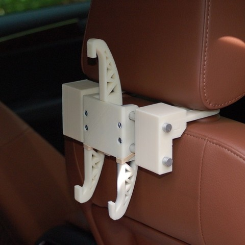 2013_05_26_0189_display_large.jpg Download free STL file Headrest Mount for iPad Holder • 3D print template, Balkhnarb