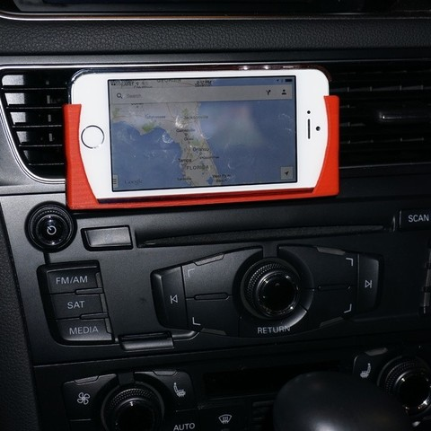 Download free 3D printing files Universal Phone Car Mount, Balkhnarb