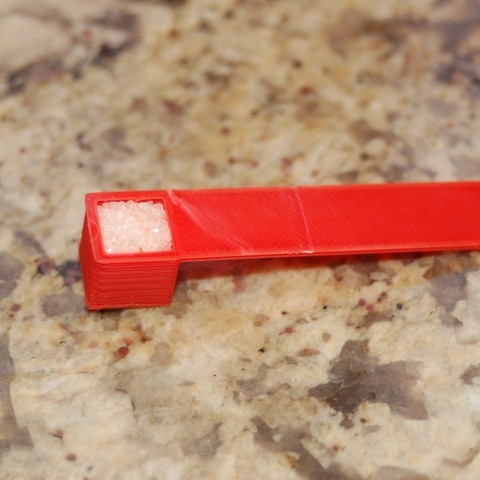 Free STL files 1 Cubic Centimeter Scoop, Balkhnarb