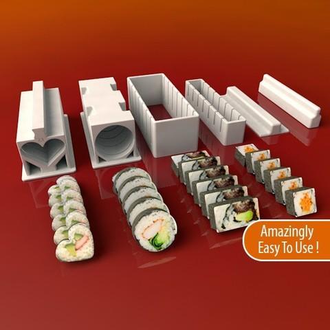 Descargar archivos 3D gratis Juego de Sushi Maker, Balkhnarb