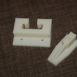 Free 3D printer files Drawer Brackets, Balkhnarb