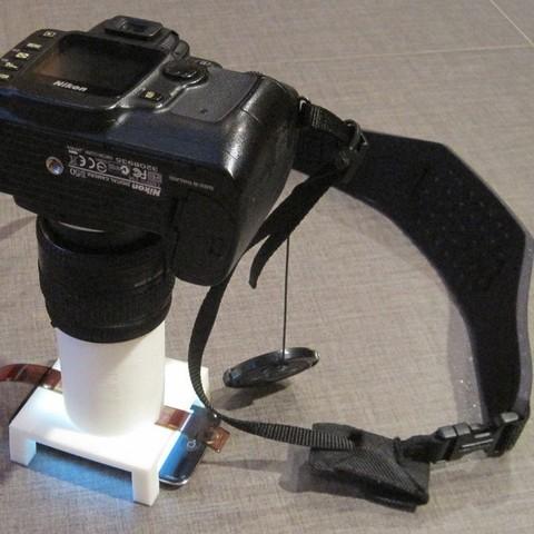 Free 3D model 110 Film Scanner with Nikon Camera, Balkhnarb