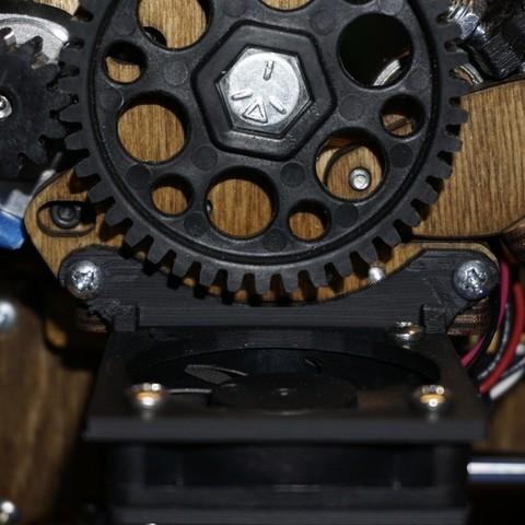Free STL files 50mm Printrbot Fan Mount, Balkhnarb