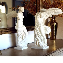 Venus_de_Milo_and_Winged_Victory_on_sideboard_4x3_by_Cosmo_Wenman_display_large.jpg Télécharger fichier OBJ gratuit Vénus de Milo • Modèle imprimable en 3D, Ghashgar