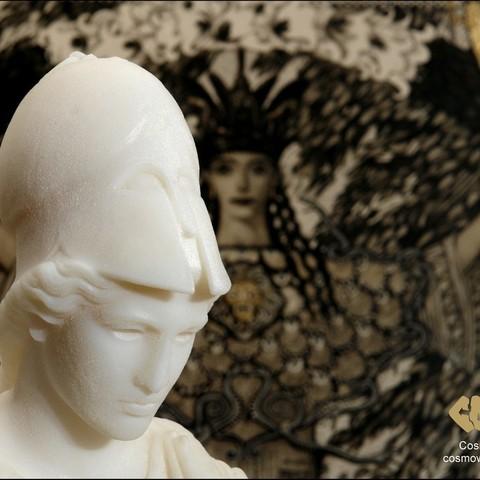 20140710_Athena_of_Velletri_with_Pallas_Athena_holding_Nike_1912_Olympiad_Print_by_Cosmo_Wenman_display_large.jpg Download free OBJ file Athena of Velletri • Design to 3D print, Ghashgar