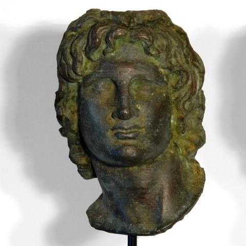 green1_display_large.jpg Télécharger fichier STL gratuit Portrait d'Alexandre le Grand • Modèle pour imprimante 3D, Ghashgar