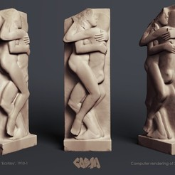 Download free 3D printing files Eric Gill, 'Ecstasy', 1910-1, Ghashgar