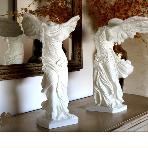 Download free 3D printing templates Winged Victory of Samothrace, Ghashgar